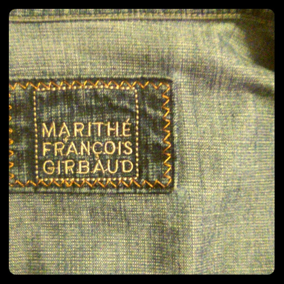 Marithe Francois Girbaud Jackets & Blazers - MARITHE FRANCOIS GIRBAUD French Denim Jacket M/W L